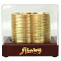 The Original Slinky Brand 14 Karat Gold Plated Metal Slinky