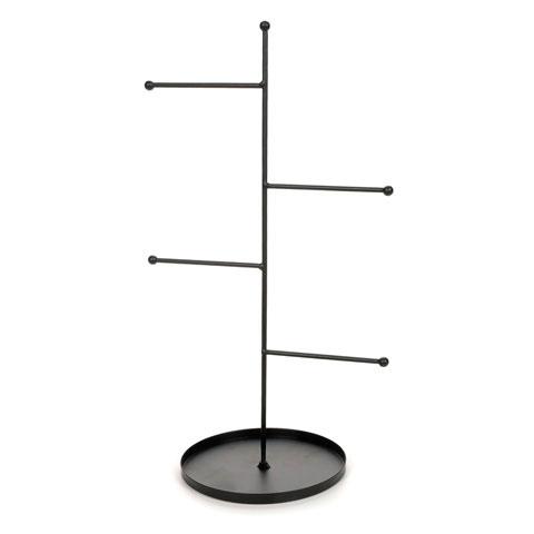 Metal Jewel Display Wrungs Stand