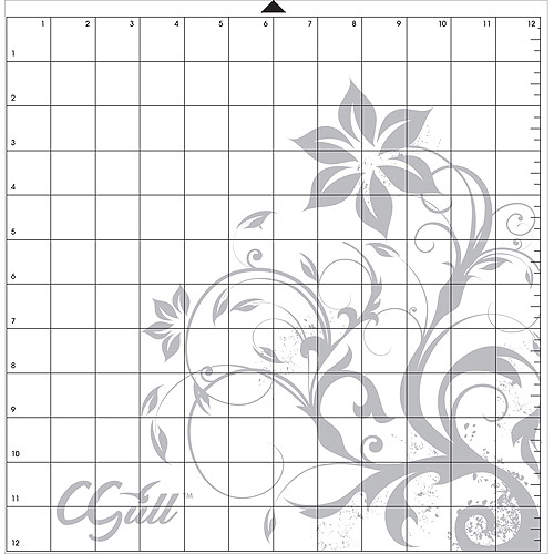"Silhouette Style Cutting Mat, 12"" x 12"""