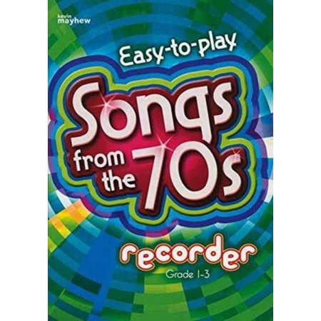 Songs from the 70s Recorder (Paperback) - Halloween Theme Song On Recorder