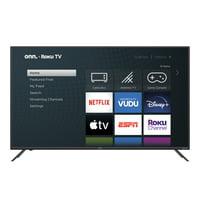 "onn. 55"" Class 4K UHD HDR Roku Smart LED TV (100012586)"