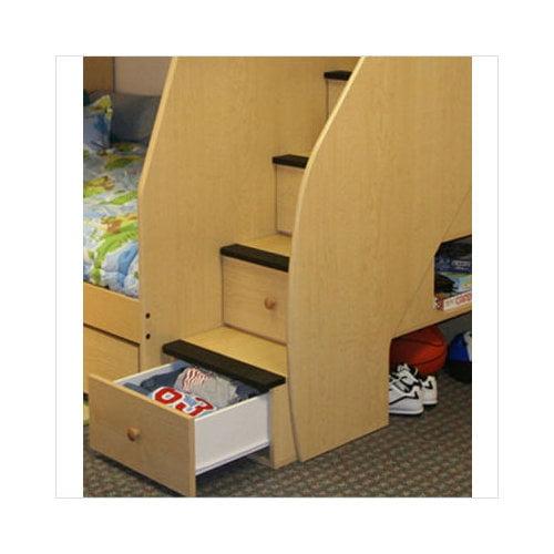 Berg Furniture Utica Loft Twin Over Full Bunk Bed Walmart Com