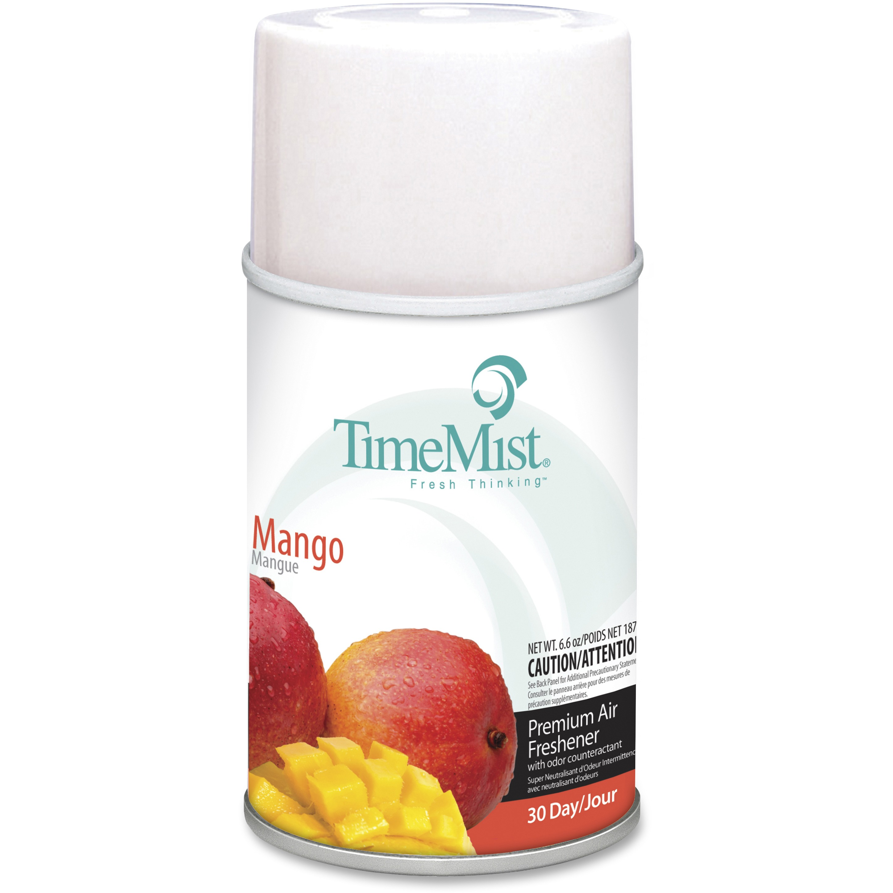 TimeMist, TMS1042810, Metered Dispenser Mango Scent Refill, 1 Each, Clear