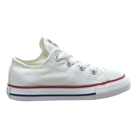 Converse Chuck Taylor All Star OX Toddler Shoes Optical White 7j256 - Chucks Shoes For Toddlers