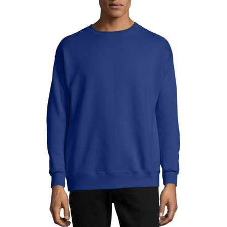 Hanes Men's Ecosmart Medium Weight Fleece Crew Neck Sweatshirt ()