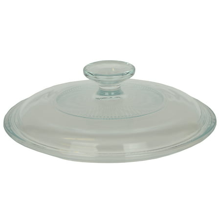 - Corningware V-1.5C Clear Glass Replacement Lid for 1.5L Stovetop Casserole Dishes