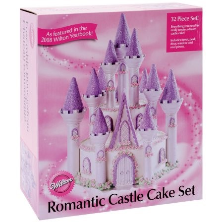 Wilton Romantic Castle Cake Set,