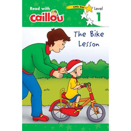 Caillou: The Bike Lesson - Read with Caillou, Level 1 - Reading Halloween Lesson Plans