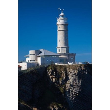 Cabo Mayor Lighthouse Santander Spain Canvas Art   Walter Bibikow  Danitadelimont  18 X 24