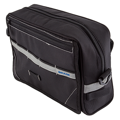 BiKase 1071 Nav-Bag Handlebar Bag 300Ci Black