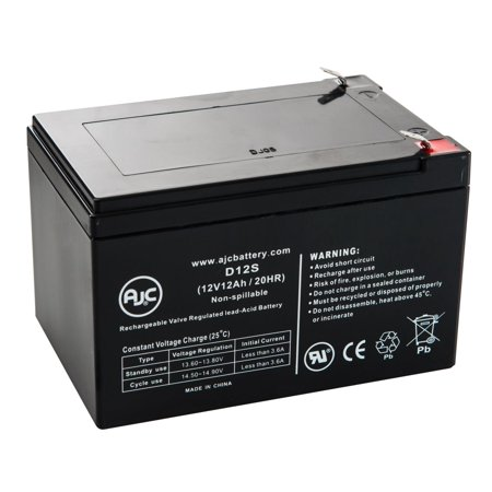 Golden Technology Buzzaround Xl 3 Wheel Gb116 12V 12Ah Battery   This Is An Ajc Brand  174  Replacement