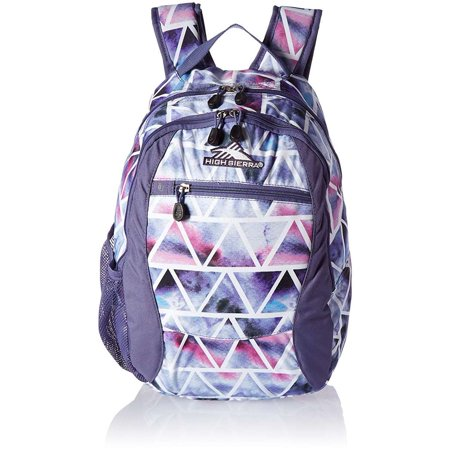 High Sierra Curve Daypack Backpack DREAMSCAPE/PURPLE SMOKE
