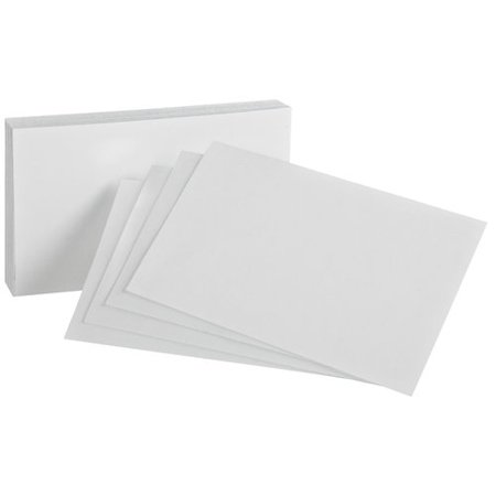 Blank Index (Oxford Essentials Ox Ess Index Card 3x5 Blank 100ct )
