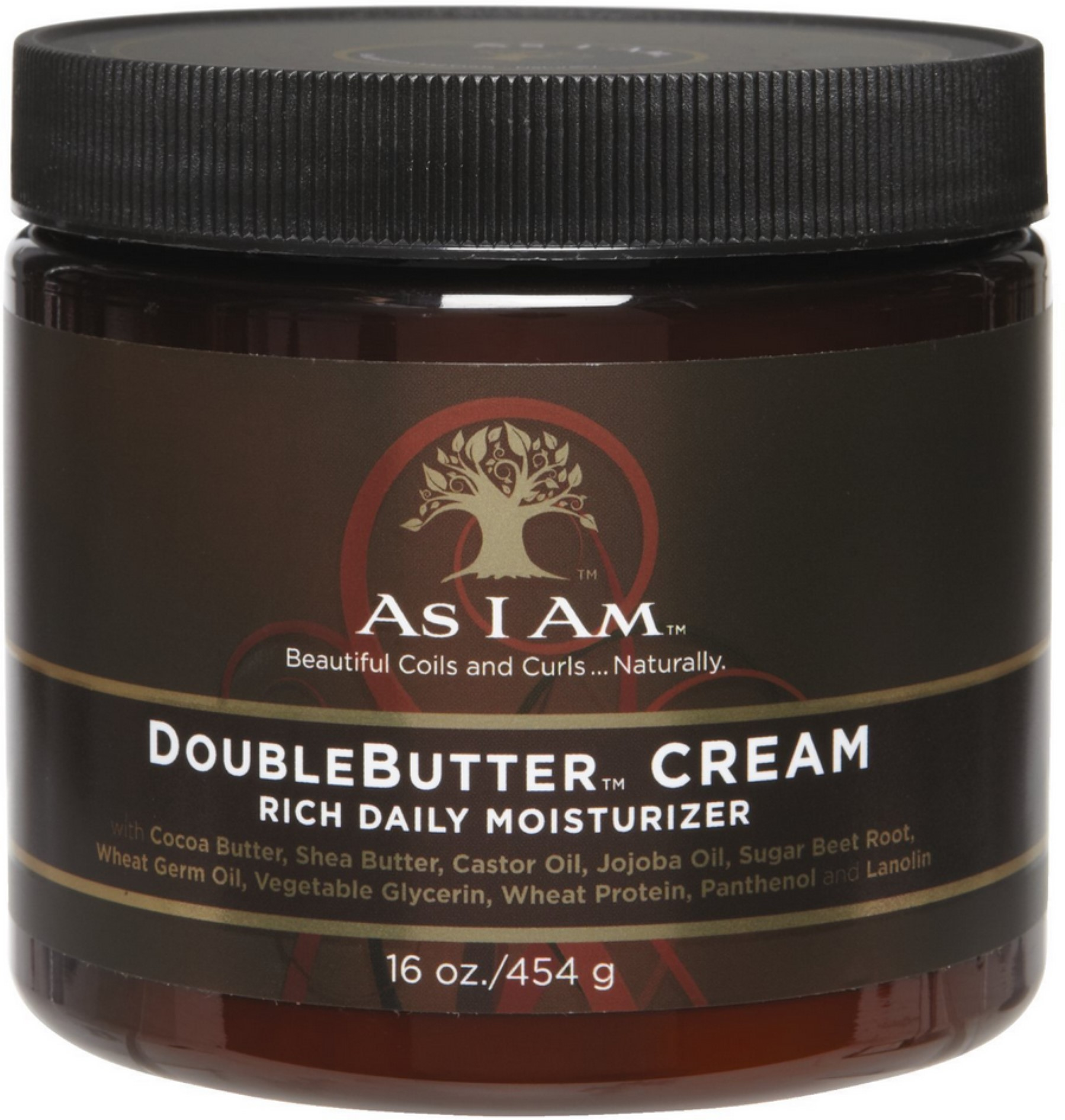 As I Am Double Butter Cream, 16 oz