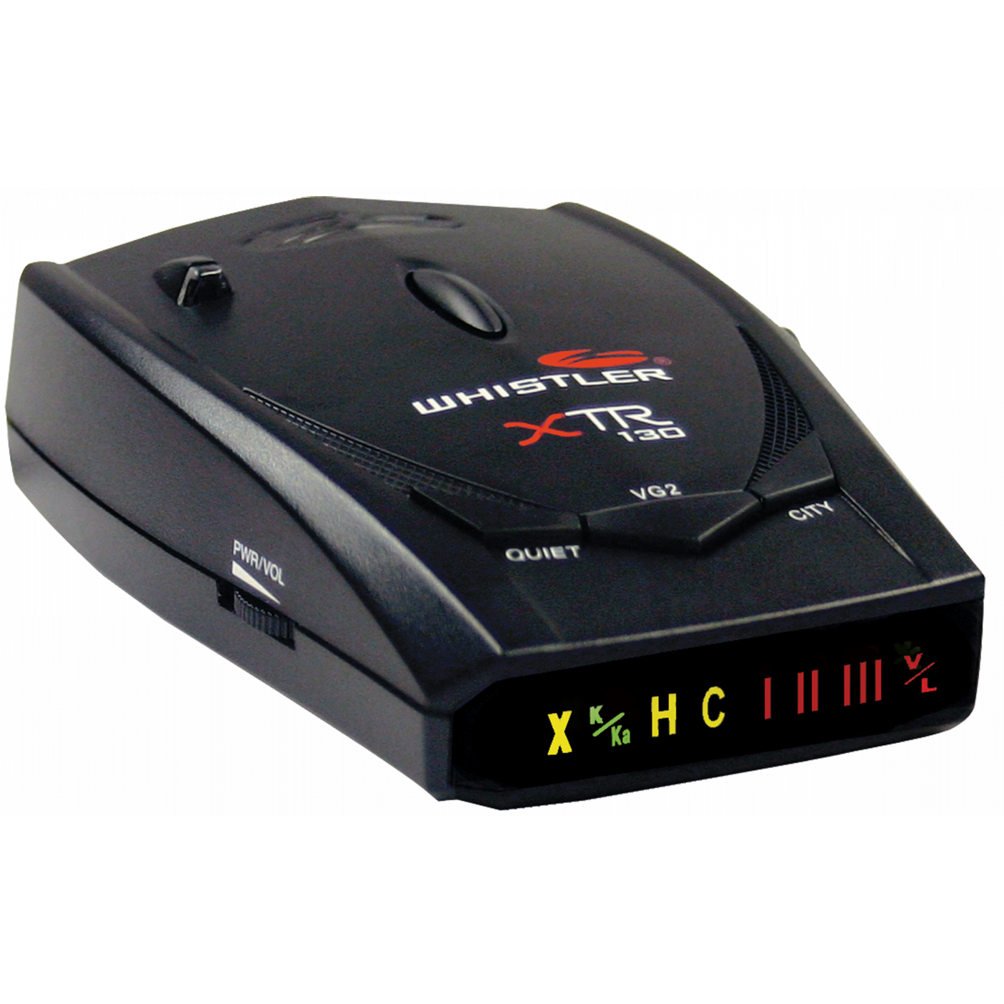 Whistler XTR-130 Radar/Laser Detector with Super-Bright Icon Display