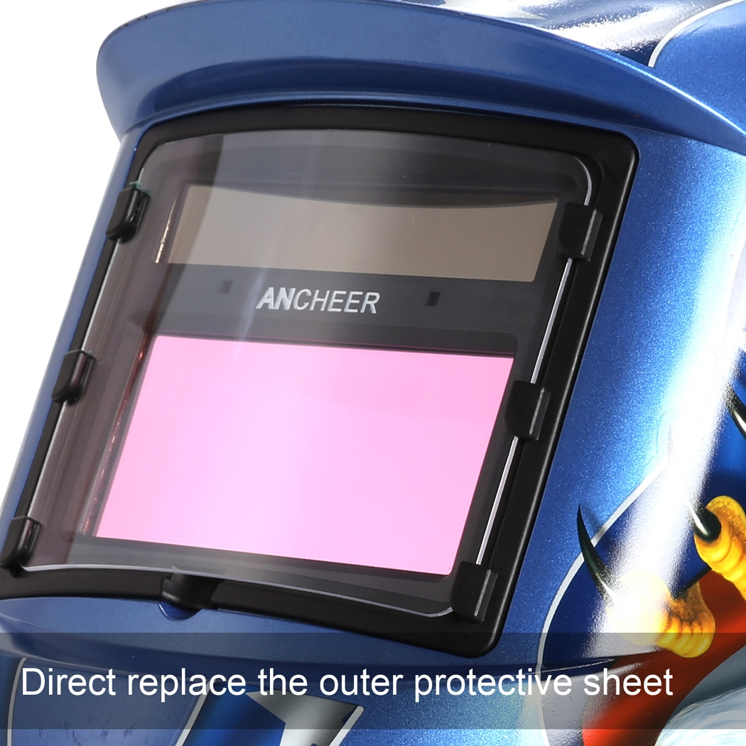 ANCHEER Solar Arc Tig Mig Auto-Darkening Welding Helmet MIG TIG ARC  Professional Mask