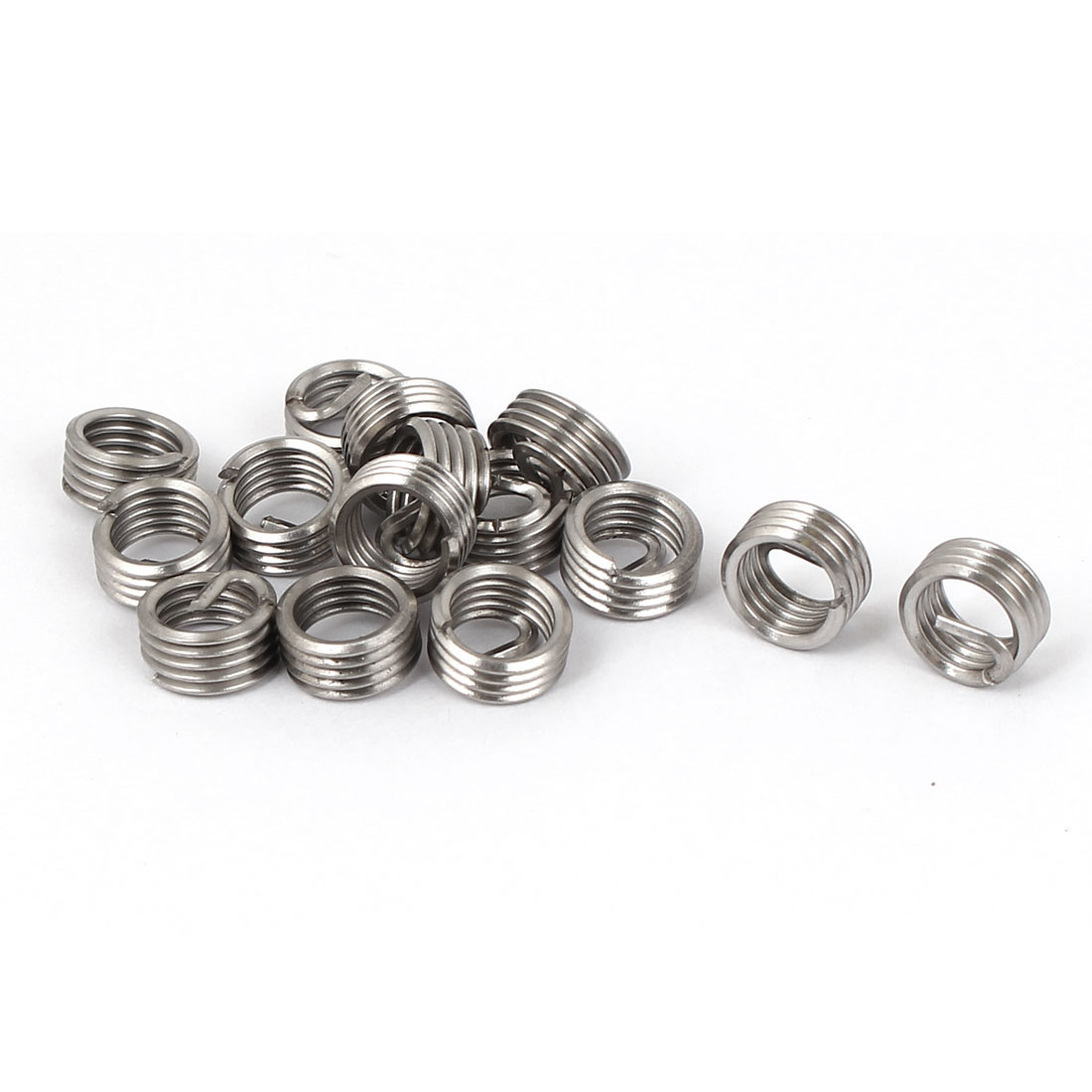 M6x1mmx1D Stainless Steel Helicoil Wire Thread Repair Inserts 15pcs