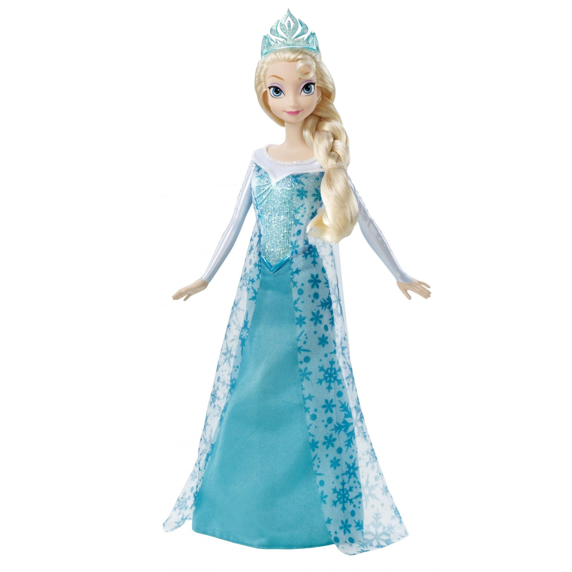 Disney Frozen Sparkle Elsa Doll by Mattel