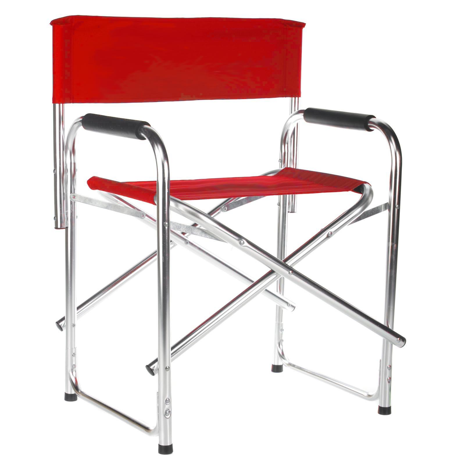 18 Inch Deluxe Aluminum Frame Standard Height Directors Chair