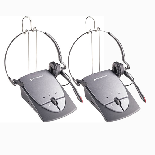 Plantronics S12 (2-Pack) Headset With Amplifier