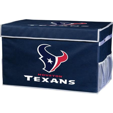 Franklin Sports NFL Houston Texans Collapsible Storage Footlocker Bins - (Spot Store)