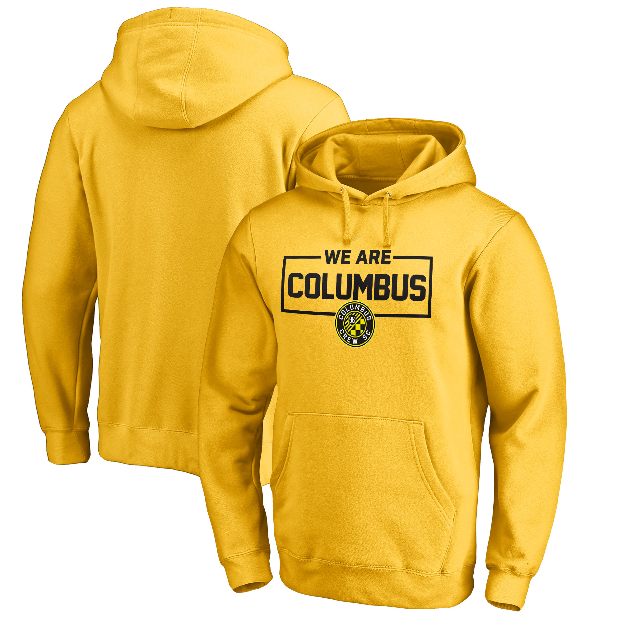 Columbus Crew SC Fanatics Branded We Are Pullover Hoodie - Yellow