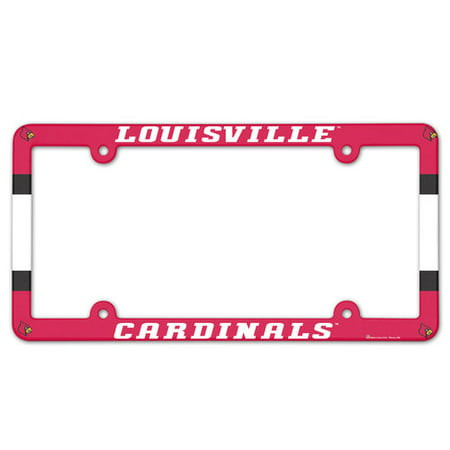 American Logo Products Louisville Cardinals License Plate Frame