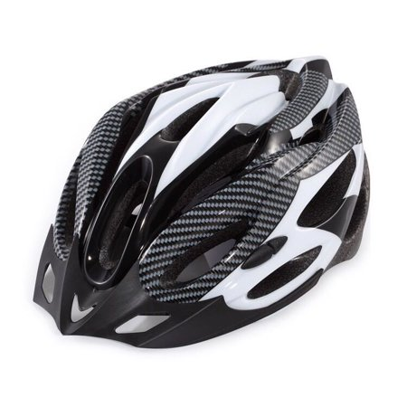 Gonex Cycling Bicycle Helmet - Adult Youth Safety Adjustable Helmet Carbon Hat with Visor