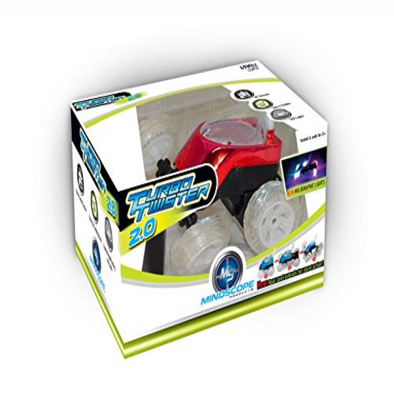 Mindscope Turbo Twister 2.0 RED Radio Control RC Red Dual...