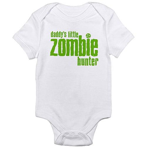 Cafepress Zombie Hunter Newborn Baby Bodysuit