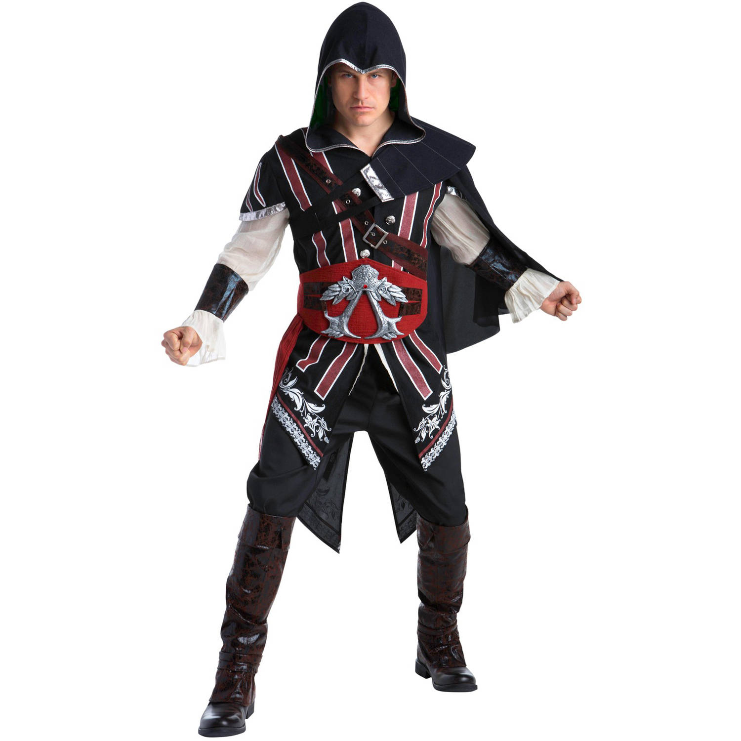 Assassinu0027s Creed Ezio Deluxe Womenu0027s Adult Halloween Costume  sc 1 st  Walmart.com : target mens halloween costumes  - Germanpascual.Com