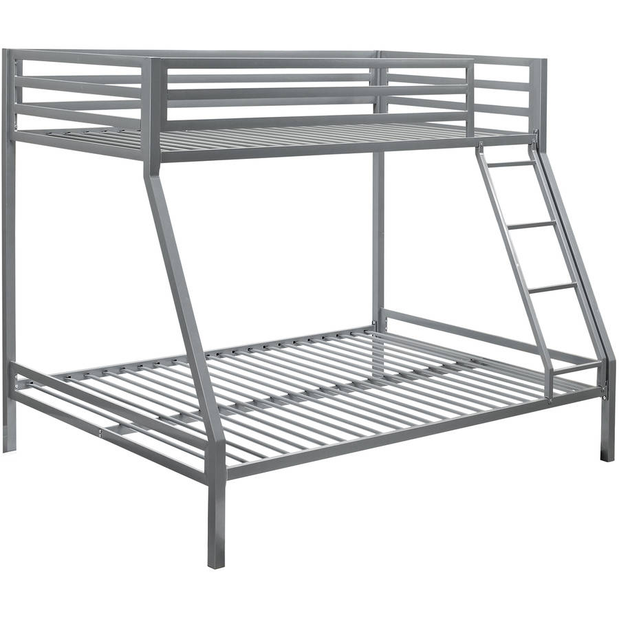 Mainstays Premium Twin Over Full Metal Bunk Bed Multiple Colors