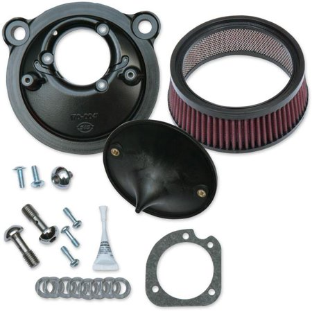 S&S Cycle 170-0302C Super Stock Stealth Air Cleaner Kit for Stock Engines