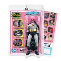 Batman Classic TV Series 8 Inch Action Figure: Batman In Pink Removable Cowl