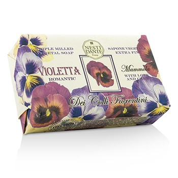 Dei Colli Fiorentini Triple Milled Vegetal Soap - Sweet Violet 8.8oz