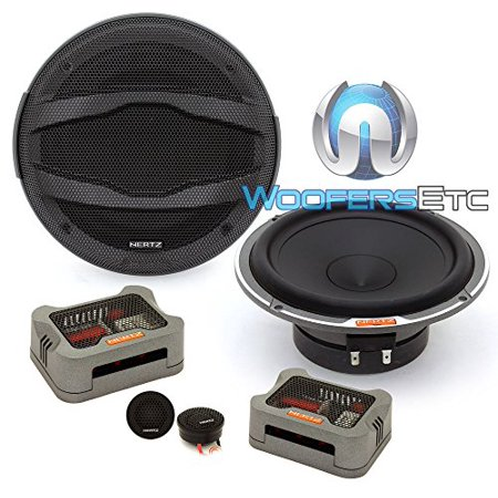 Hertz Mpk 165P 3 230W Max 3 Ohm 6 5  Two Way Car Audio Speaker Component System