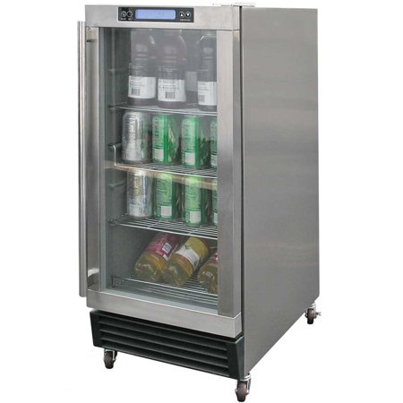 Cal Flame 3 25 Cu Ft Built In Outdoor Mini Fridge Stainless