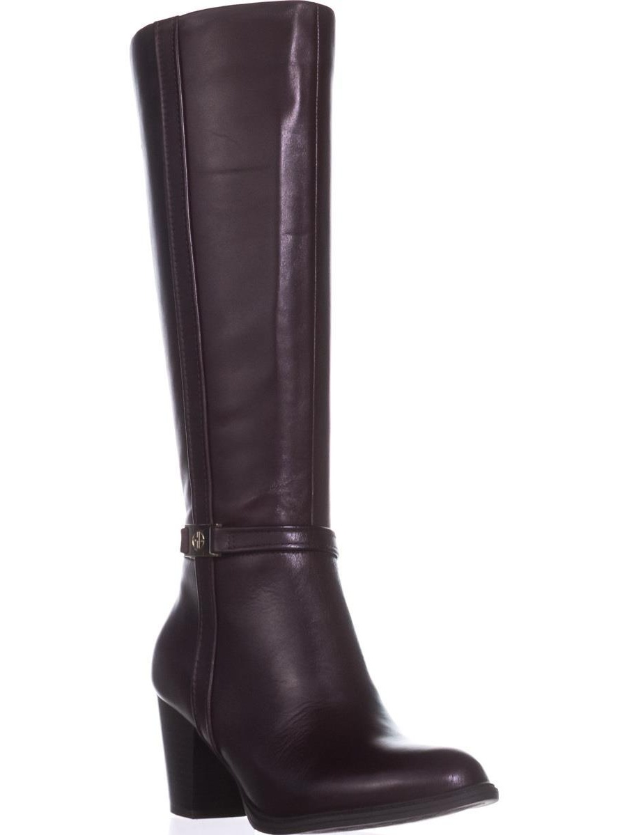 Womens GB35 Raiven2 Knee-High Dress Boots, Oxblood