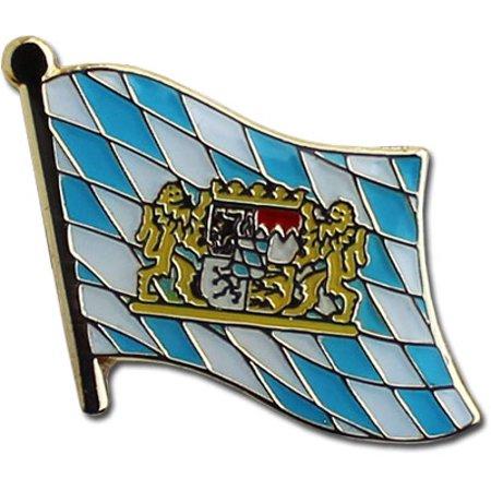 Bavaria (Lions) Flag Lapel