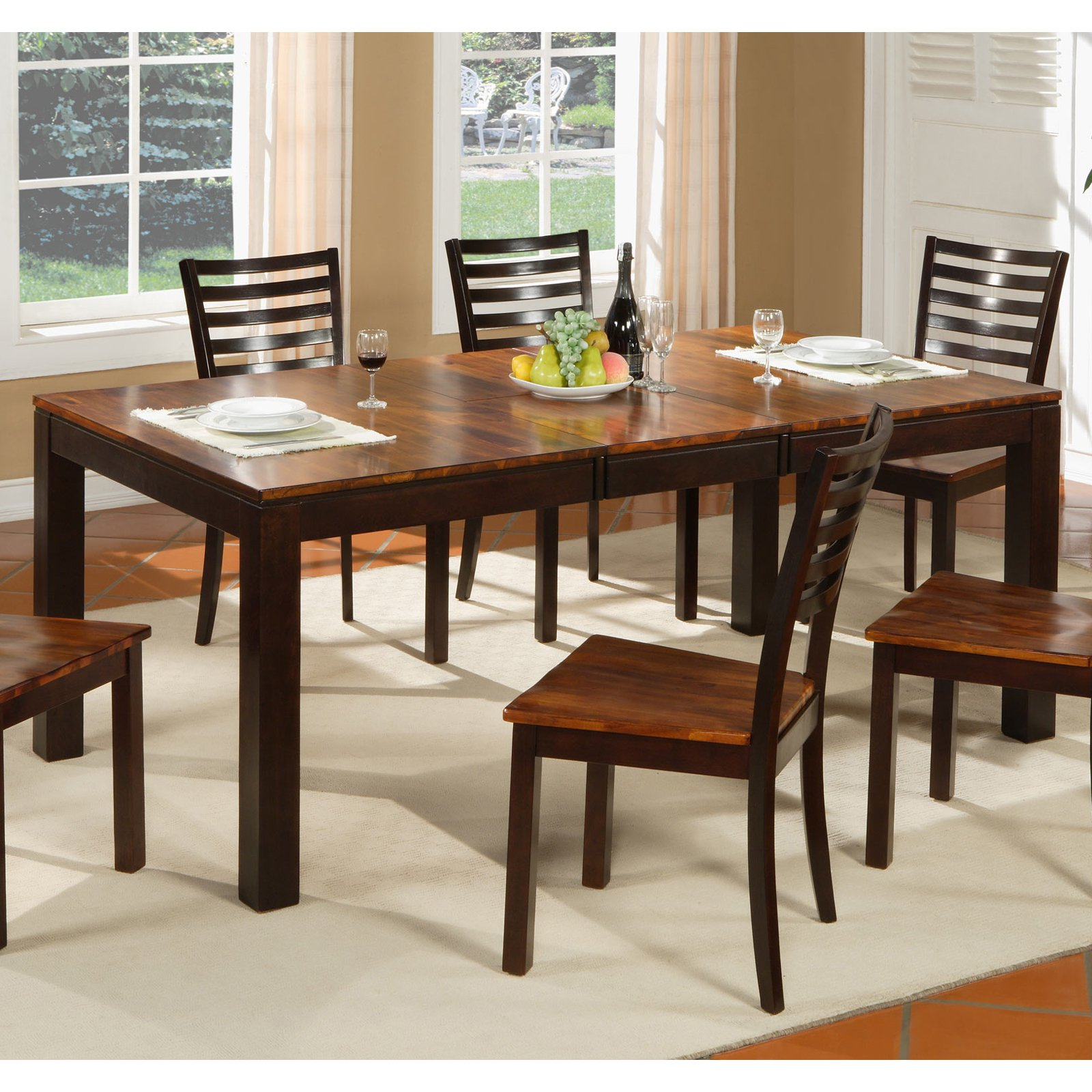 Winners Only Fifth Avenue Dining Table with 18 in. Leaf
