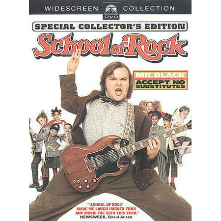 THE SCHOOL OF ROCK [DVD] [FULL - Rock The Part