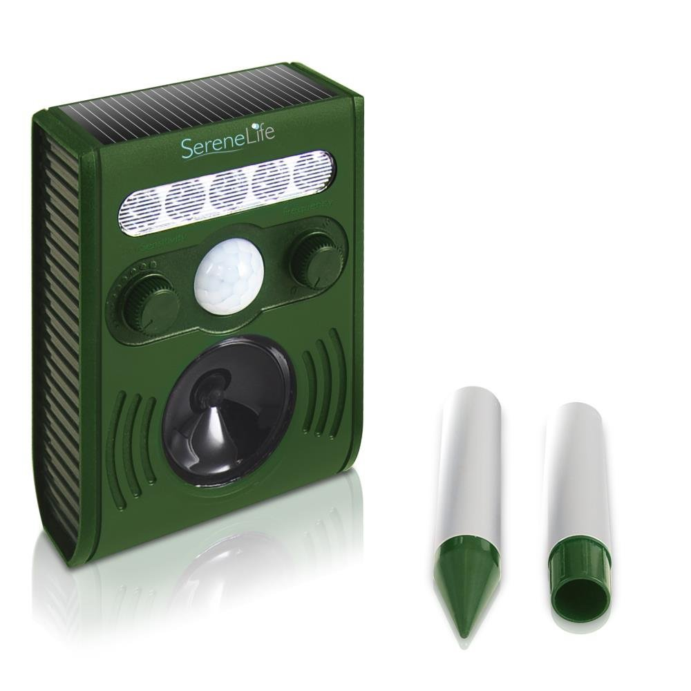 Motion Activated Ultrasonic Pest Repeller, Outdoor Ultras...