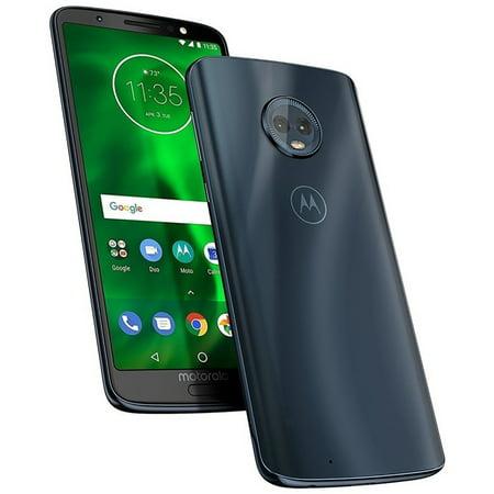 Gsm Hands Free Cell Phone (Motorola Moto G6 Plus XT1926-7 64GB Unlocked GSM Android Phone - Deep Indigo )