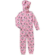 Girls' Character Hooded Blanket Sleepers