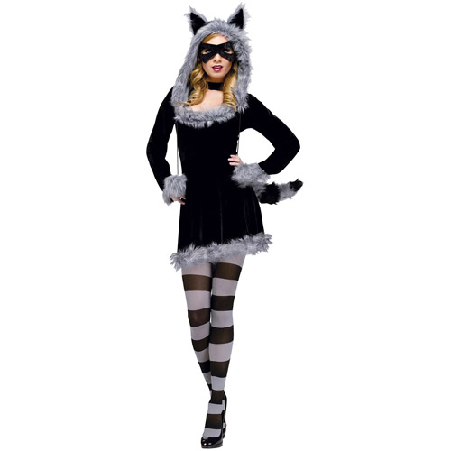 Raccoon with Tights Child Costume