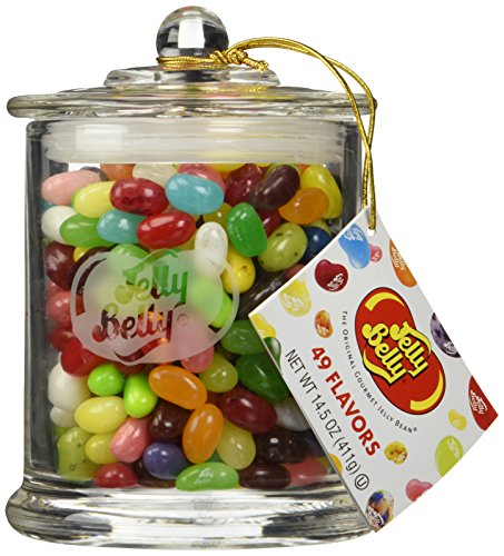 Jelly Belly Classic Glass Jar, 14.5oz by