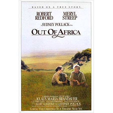 Robert Redford Meryl Streep Out Of Africa Vintage Movie Poster Classic -