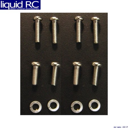 Hobby Etcetera M3P1012S Mounting screw set with lock washer Humbucker Mounting Ring Screws