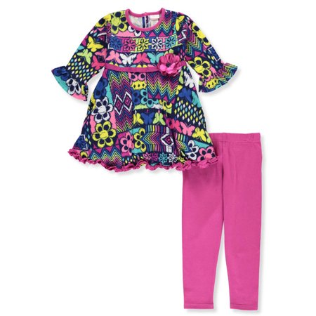 Youngland Girls' 2-Piece Leggings Set Outfit
