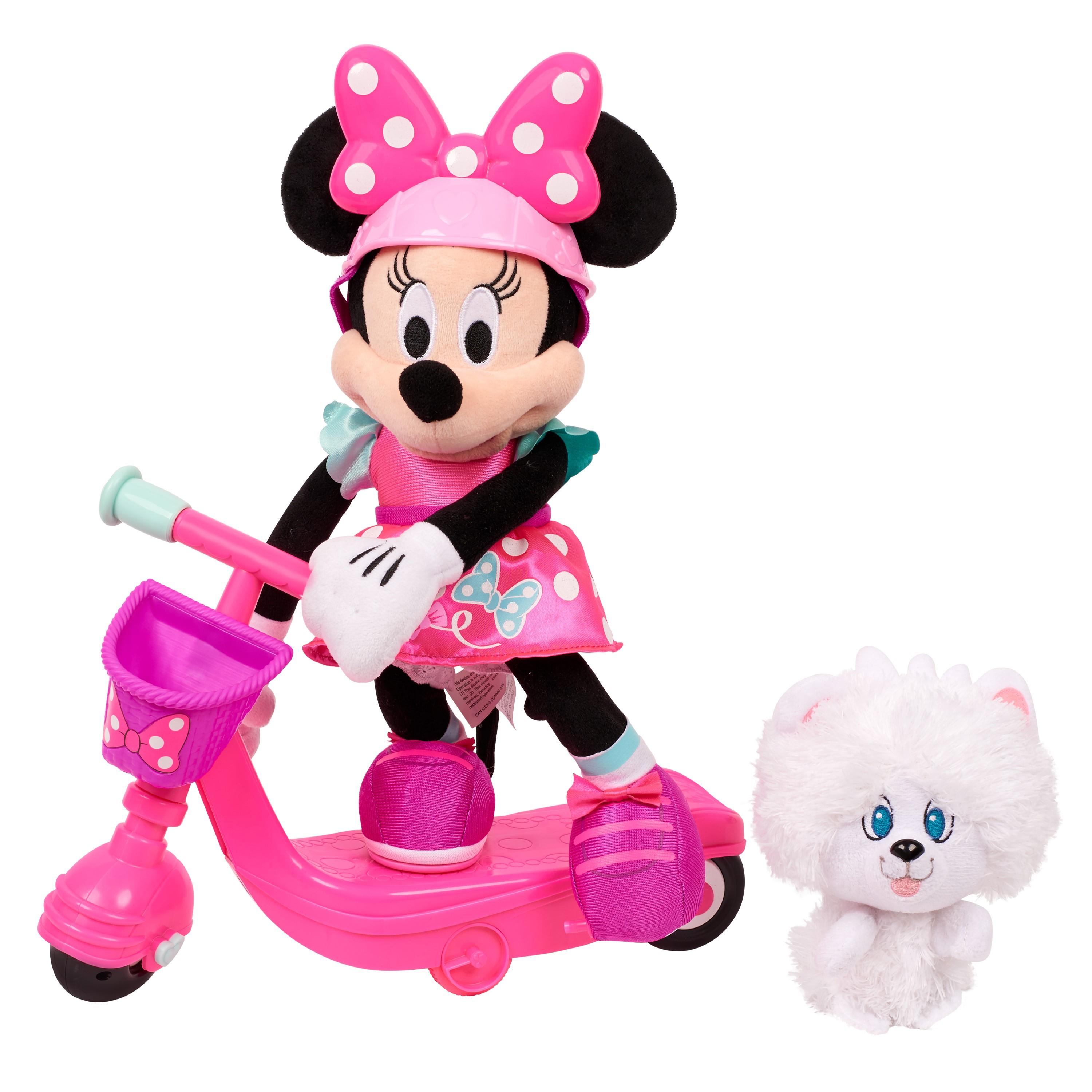 Minnie's Happy Helpers Sing & Spin Scooter Minnie Plush